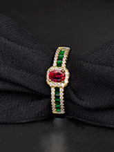 Gift Jewelry for Women, sapphire Ruby Gemstone Rings for Women Wedding Engagement Jewelry 925 Sterling Silver