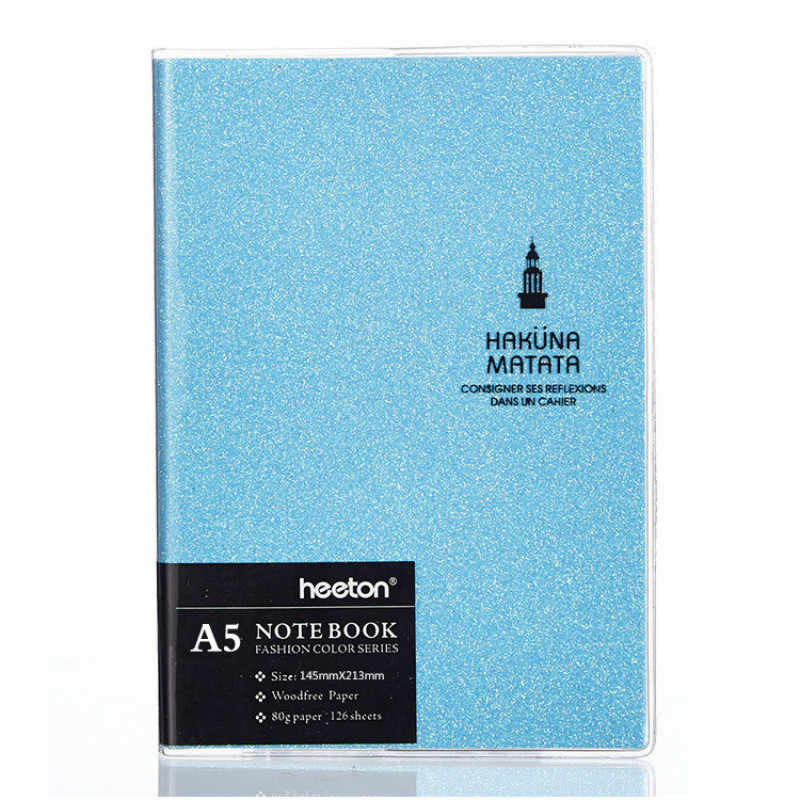 A5/A6/A7 notatnik kolorowy Laser Planner Organizer notatnik pamiętnik tygodniowy pensional Journal Traveler notatniki artykuły biurowe