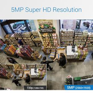 Image 5 - ANNKE H.265 + 5MP Lite Ultra HD 8CH DVR CCTV Security System 4PCS 5MP IP67 Weaterproof Outdoor 5MP Kamera video Überwachung Kit
