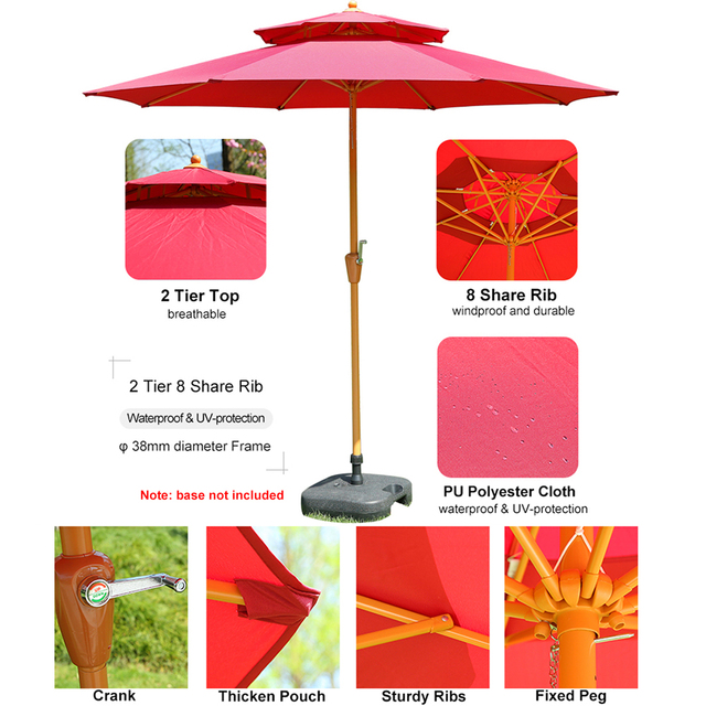 Patio Outdoor Market Umbrella  3