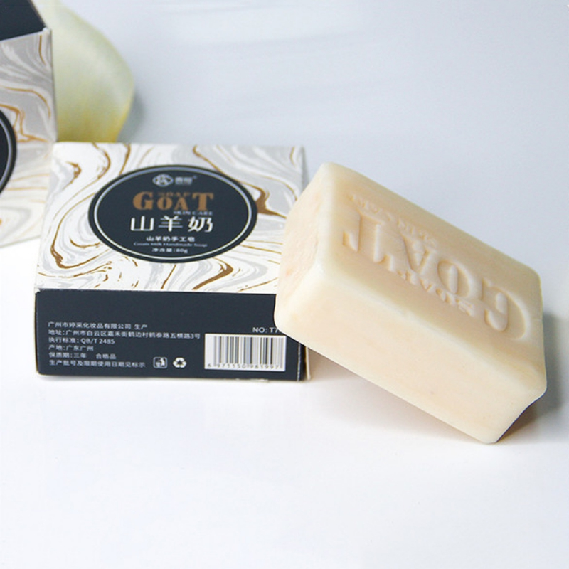 Goat Milk Handmade Soap Nourishing Skin Anti-itching Anti-mite For Body Face And Facial Detox Cream Shrinking Pores
