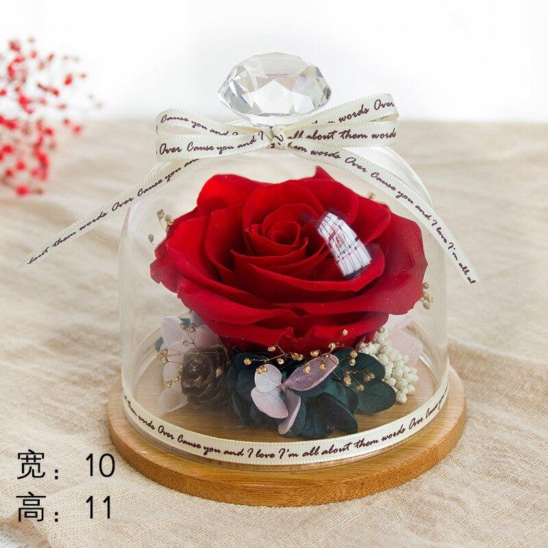 flower bear Wedding starry flower artificial flowers valentine's day gift box 520 Valentine's Day creative birthday gift - 2