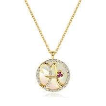 925 colar de prata esterlina jóias pingente feminino dourado 26 inglês carta clavícula corrente carta colar feminino