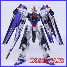 Modelo fãs em estoque mc shunfeng modelo mokai mb metal construir gundam liberdade 2.0 figura de ação
