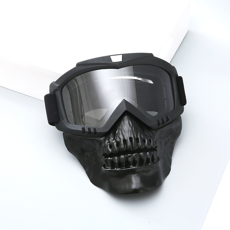 Outdoor Tactical Hunting Mask Full Face Protective Shooting Airsoft Mask With Goggles For Paintball Military Combat Skull Masks