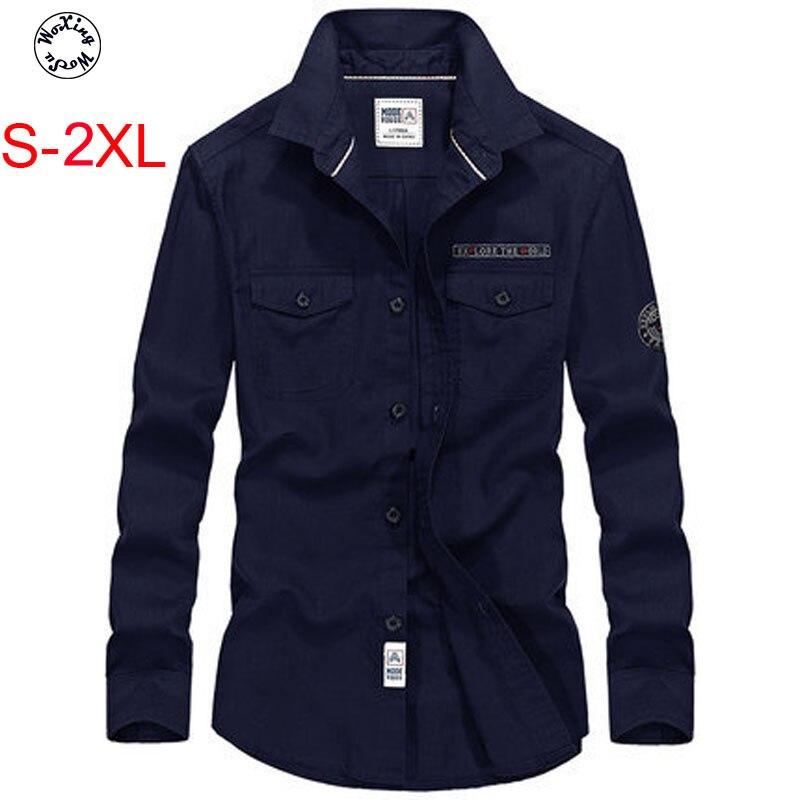 Woxingwosu printemps chemise à manches longues, vêtements pour hommes, l, manteau, tenue décontracté, chemises en coton et lin. S à 3XL