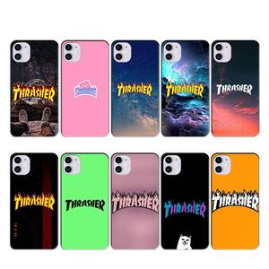Wumeiyuan Fashion brand THRASHER case coque fundas for iphone 11 PRO MAX X XS XR 4S 5S 6S 7 8 PLUS SE 2020 cases cover(China)