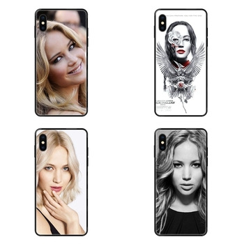 For Samsung Galaxy S5 S6 S7 S8 S9 S10 S10e S20 edge Lite Plus Ultra Online Jennifer Lawrence Special Luxury Black Soft Phone image