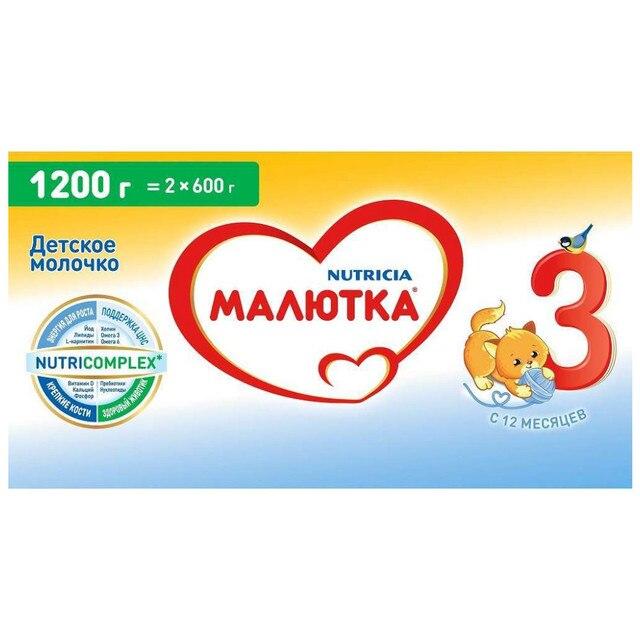 Молочная смесь Малютка 3 с 12 мес 1200 гр