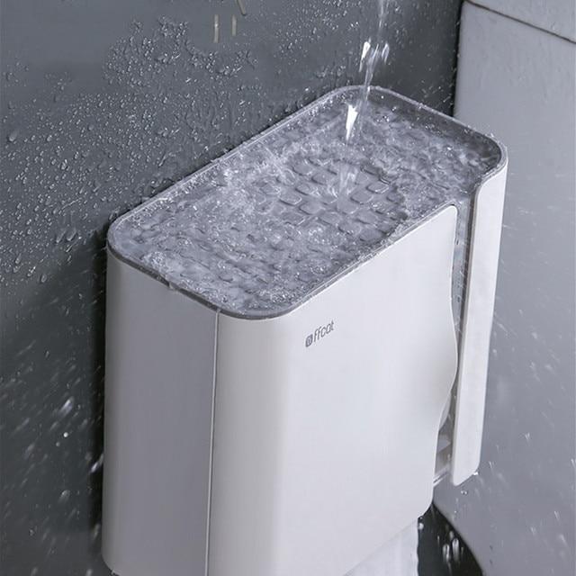 Фото полка для туалетной бумаги настенная коробка салфеток держатели