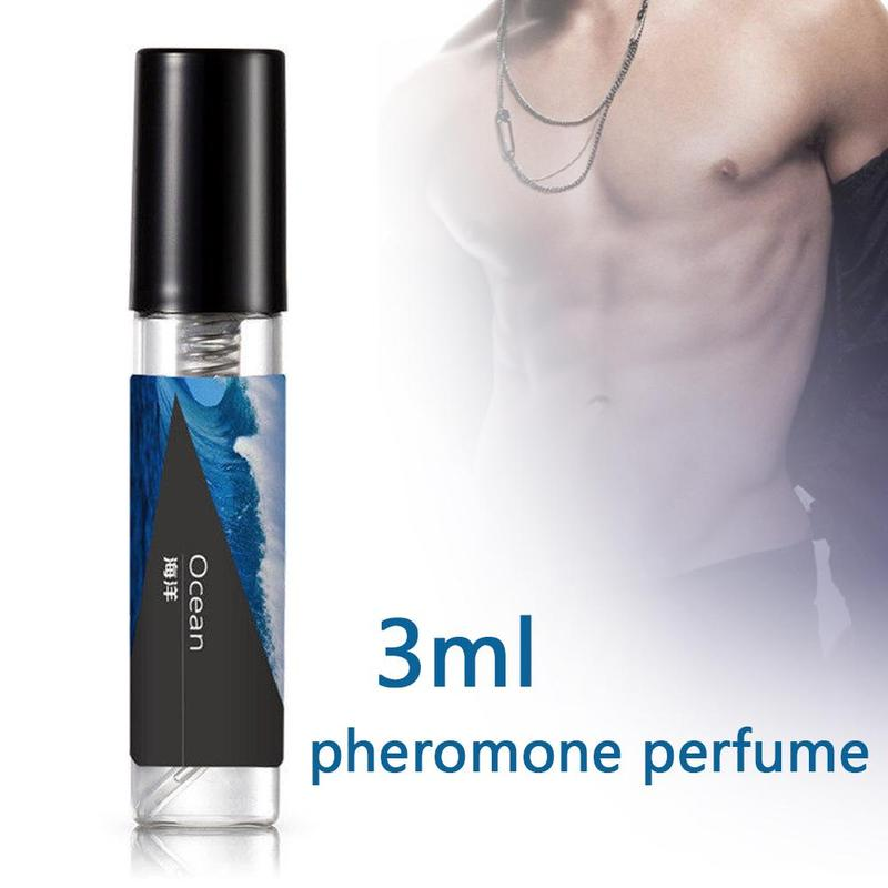3ml Pheromone Perfumed Aphrodisiac For Men Body Spray Long Lasting Attract Women Flirt Perfumed Essential Oil Scented Water