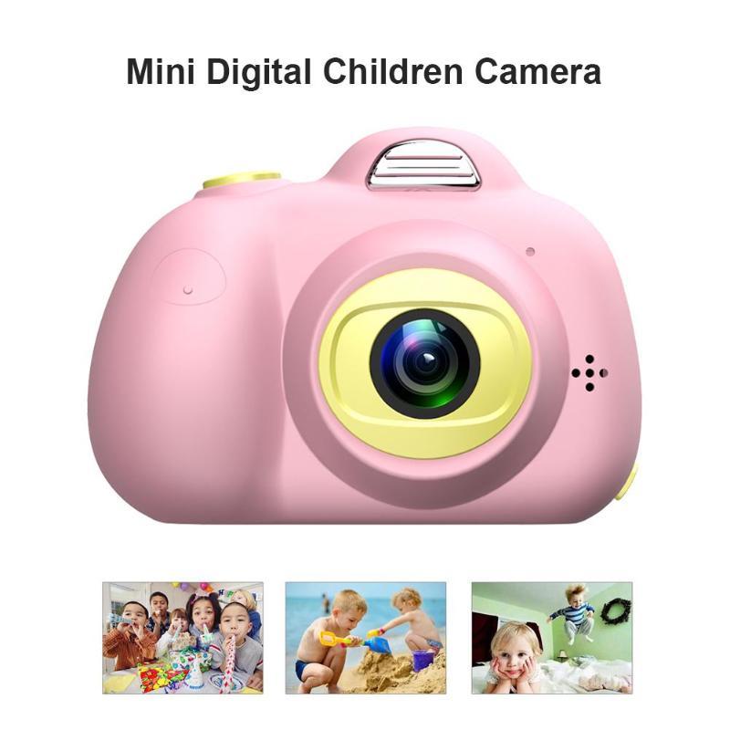 D6 Children Mini HD Camera Toys 32GB Dual Lens Digital SLR Photo Camera For Kids Automatic Lock Positioning Function
