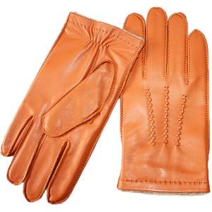 Image 5 - Gants en cuir de mouton pour homme, haute qualité, style suture, gants importés, en laine, chauds, automne