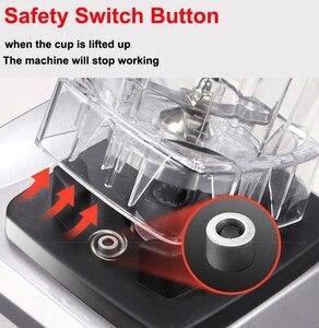 Image 3 - BPA Free Commercial Grade Timer mieszalnik Heavy Duty automatyczny sokowirówka robot kuchenny kruszarka do lodu koktajle 2200W