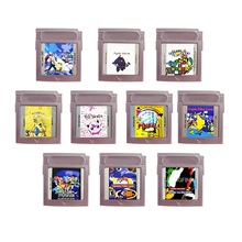 Super Pika Land Tpp Trading Card Game 1 2 Team Rocket Prisma Roze Geheugen Cartridge Kaart Voor 16 Bit Console