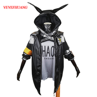 VEVEFHUANG Game Arknights Cosplay Costumes Regicide Cosplay Costume Halloween Carnival Party for Adult Anime Cosplay Costume