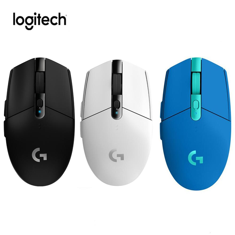 Logitech G304 Wireless Mouse G304 Gaming Mouse Wireless 2.4Ghz With 12000DPI Optical Mouse By Logitech for Overwatch Mouse Gamer