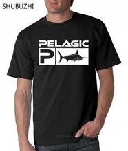 Pelagic Fishing Aquatic T Shirt Black Size S 3Xl cotton tshirt men summer fashion t-shirt euro size