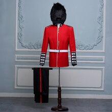 Королевская защита для взрослых мужчин костюм для выступления церемонии открытия Выпускные вечерние