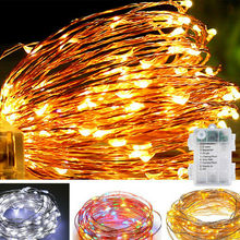 Fairy Lights Battery Operated 100LED String Remote Control Timer Twinkle 8 Modes 16.4 Feet Firefly