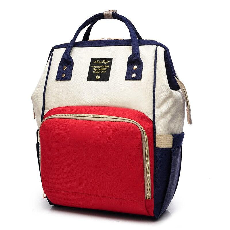 Diaper Bag Fashion Korean-style Freaky Backpack MOTHER'S Bag Large Capacity Multi-functional Baoma Nursing Travel Backpack Fashi