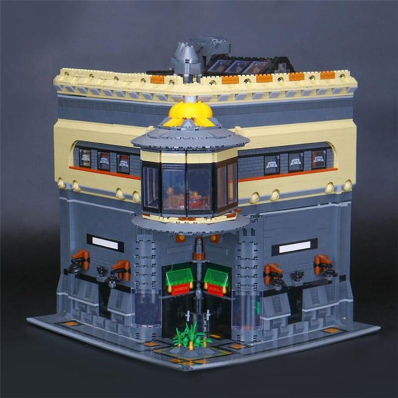 15015 Streetscape Series The Dinosaur Museum Building Blocks Children Toys Compatible with Lepin MOC Bricks Set