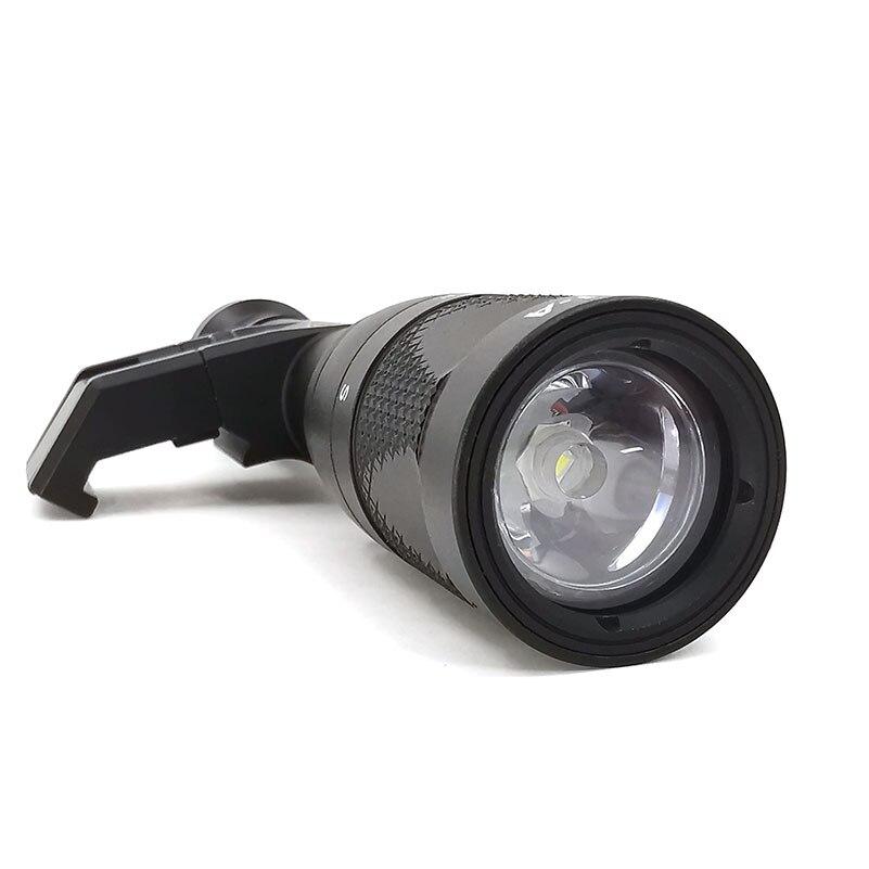 lanterna tatica softair lampada de caca rifle 05