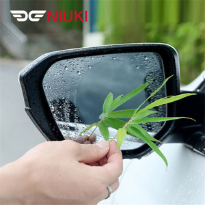 Image 4 - רכב מדבקת אנטי ערפל אנטי מים רכב Rearview מראה מגן סרט רכב מראה חלון ברור סרט קרום אנטי בוהק עמיד למים