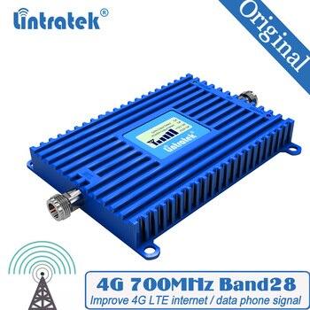 Repetidor de señal 4G 700MHz B28B 700MHz LCD amplificador de señal de teléfono celular potente 70dB amplificador de ganancia 4G LTE amplificador de señal de Internet