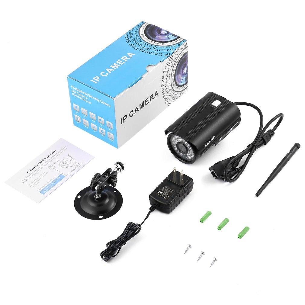 HW24 1080P 2.0 Megapixel Progressive CMOS Sensor 36pcs IR LED With WIFI Color CCD IP Camera For Home Security