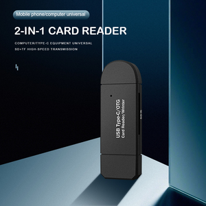 Micro TF SD Card Reader USB 3.0 OTG 2 in 1 High-speed Flash Drive Card Adapter for Household Computer Accessories