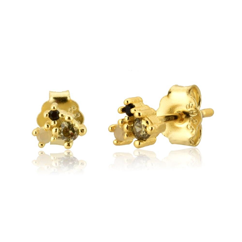 Gold Stud Earring