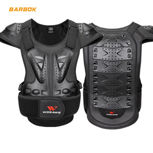 WOSAWE Back Protector Motorcycle Armor for Adult Short Sleeve Spine Chest Protection Motocross Racing Skateboard Top Body Armor