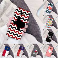 I Love Texas Flag High Quality Silicone Phone Case for Samsung a3 a5 a6 a9 a7 a8 a10 a20 a40 a70 case(China)