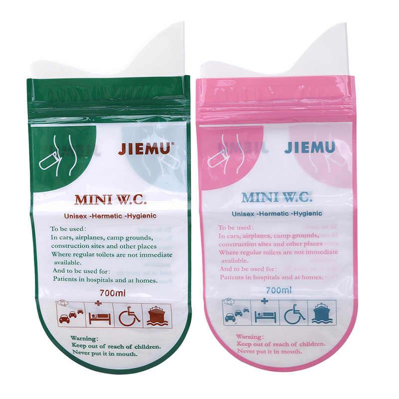 4 sztuk/zestaw spodnie treningowe dla dzieci przenośne jednorazowe podróży awaryjne torba na mocz wymioty torba mini toaleta dla dziecka