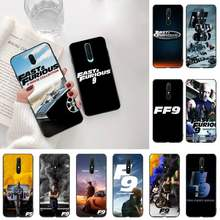 Cutewanan Fast & Furious 9 Hitam TPU Soft Phone Case Cover UNTUK OPPO A5 A9 2020 Reno2 Z Renoace 3pro realme5Pro(China)