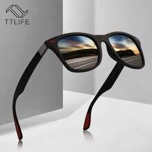 TTLIFE Brand Design Classic Polarized Sunglasses Men Women Driving Square Frame Sun Glasses Male Goggle Gafas De Sol YJHH0272
