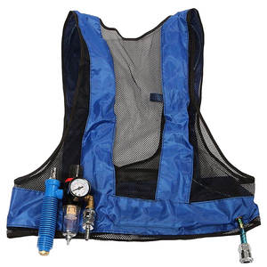 Compressed-Air-Cooling-Welding-Vest Vortex-Tube Waistcoat Air-Conditioner New Enhanced