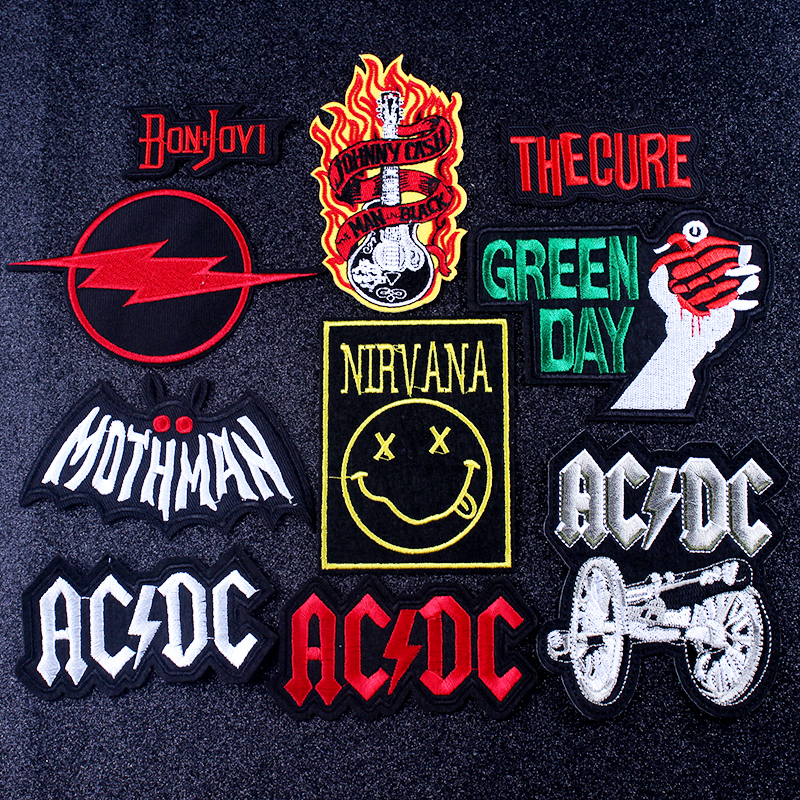 Good quality and cheap acdc badge in Store Xprice