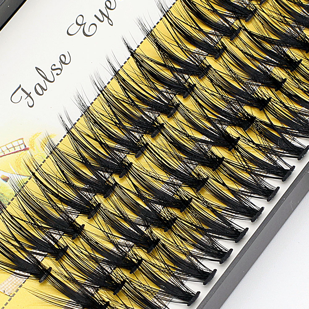 Grosso 30d vison cílios extensão 3d efeito de volume fofo falso maquiagem cílios naturais longo preto enxertia cílios ciliosk