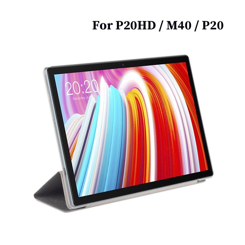 Funda protectora para tableta Teclast P20HD M40 P20, 10,1 pulgadas, de cuero PU, con soporte