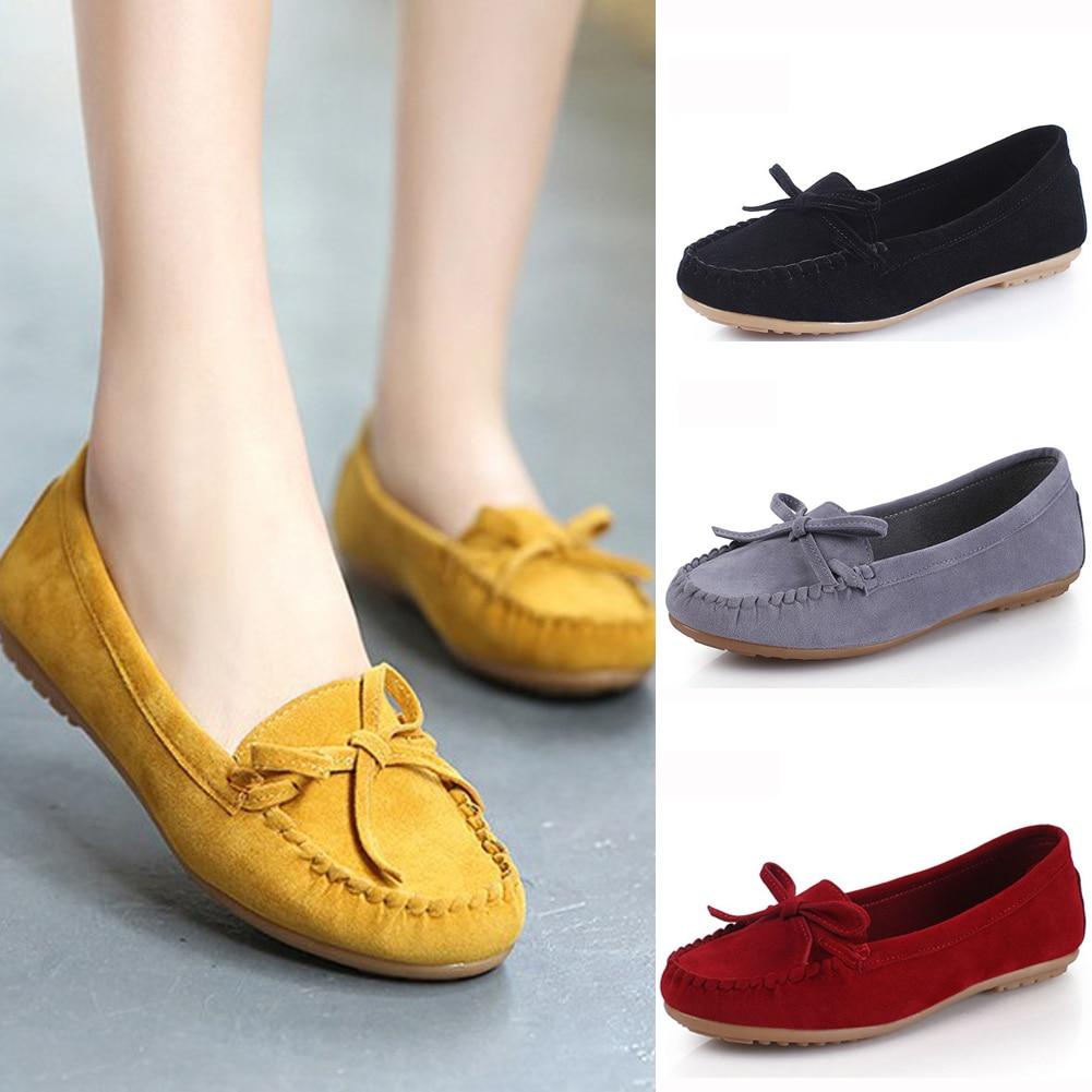 2020 Spring flat shoes women Casual Shoes Fashion Peas Ballet women's  loafers Shoes Adult Lazy Sneakers Slip on Flat Footwear|Women's Flats| -  AliExpress