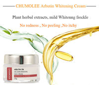 CHUMOLEE Alpha Arbutin 5% Whitening Freckl Cream Melasma Pregnancy Remove Acne Dark Spots Melanin Pigment Moisturizer Face Care 2