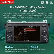 Kapud android 10,0 AutoRadio coche jugador estéreo para BMW Serie 3 E46 Multimedia M3/318/320/325/330/335/1998-2005 navegación GPS