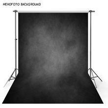 Виниловый фон для фотосъемки винтажный черный серый текстурный