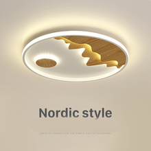 Nordic Round LED Ceiling Lamp For Bedroom Modern Remote Controlling Ceiing Light Home Indoor Decor LED Lighting Fixture
