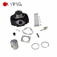 FLYPIG Hot Selling Big Bore 44mm Cylinder Head Piston Spark Plug Assembly for Yamaha PW50 BIG BORE PW60 Bike 60cc