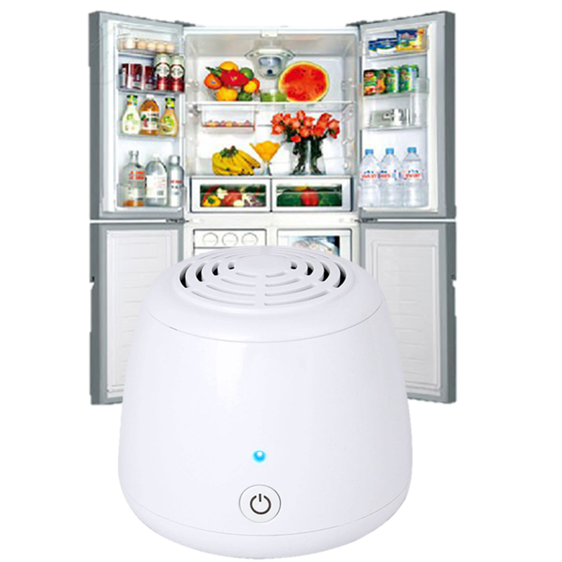 Air Purifier Car USB  Fridge Ozone Generator Fresh For Refrigerator Bathroom Food Fresh Wardrobe Disinfection