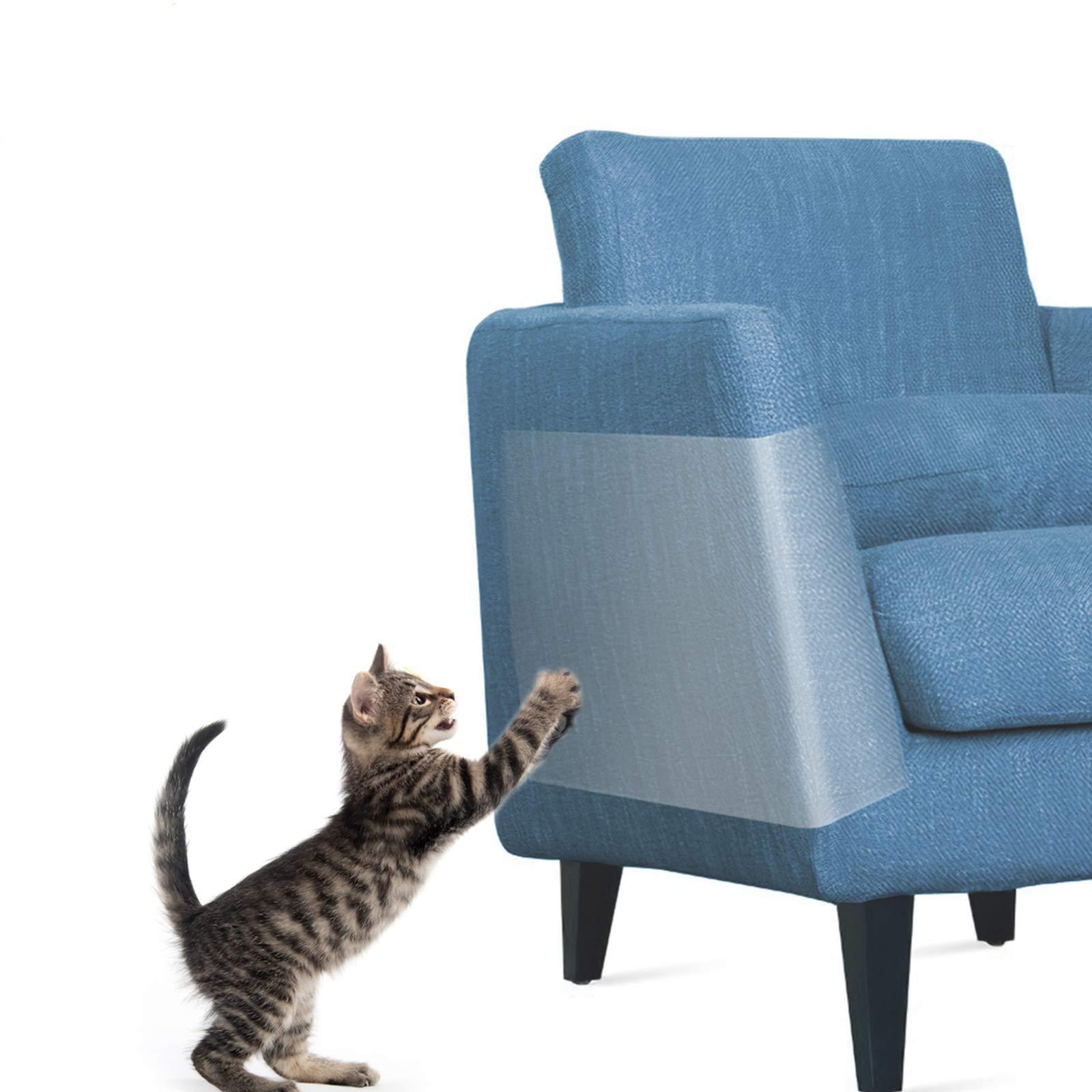 Anti gato scratcher guarda gato arranhando pós móveis sofá protetor gato raspador fita anti-dissuasor paw pads tapete protetor