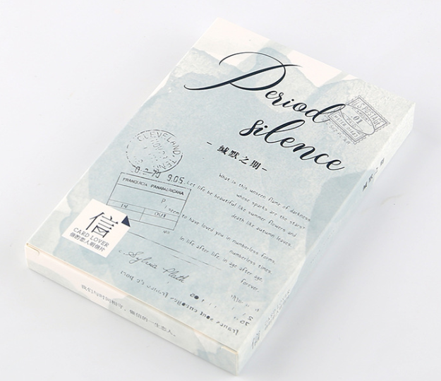 A31- Silent Words Paper Postcard(1pack=30pieces)